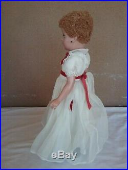 Madame Alexander vintage 17 doll Mary Martin Margaret face caracul well strung