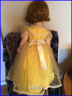Madame alexander vintage 32in Mary ellen Walker 1959