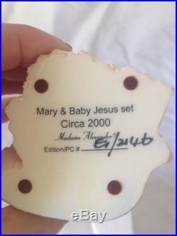NIB Madame Alexander Nativity Set All, Except One, Have COAs