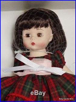 New Madame Alexander 90 Years of Christmas Wishes 8 Inch Girl Doll