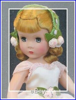 RARE 1948-49 Vintage Madame Alexander Rosamund Maggie Face Karen NMIB WOW