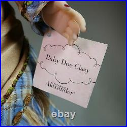 RARE 2002 21 Madame Alexander Baby Doe Cissy #33960 Limited Edition Only 200