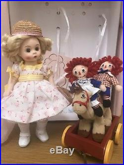 Raggedy Ann And Andy Madame Alexander Dolls Marcella Takes A Trip WithRA & A