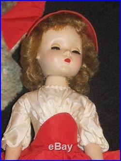 Rare 18 Vintage All Original Madame Alexander Glamour Girl Doll Godey Lady