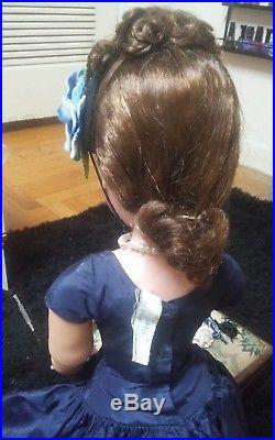 Rare 1950s Vintage 20 Madame Alexander brunette Cissy doll