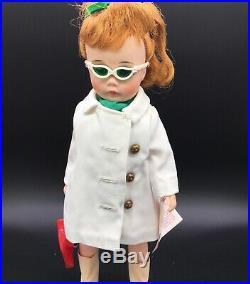 Rare 1967 Madame Alexander 1262 Nancy Drew Doll 12 in White Coat