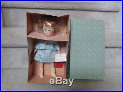 Rare 1967 Madame Alexander Nancy Drew Doll Mib Glasses Purse Camera Tag 12 1264