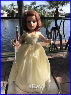 Rare 21 Madame Alexander Margaret Yellow Bridesmaid All Original