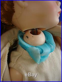 Rare Alexander 12 NANCY DREW Doll #1262 in Tan Coat & Dress with Hang Tag 1967