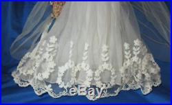 Rare Beautiful 16 1957-58 Madame Alexander Elise Floral Wreath Bride