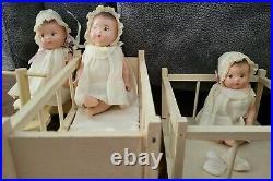 Rare/vintage Dionne Quintuplets 1935 Madame Alexander Dolls