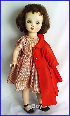 SALE FABULOUS Vintage C. 1950 WINNIE WALKER 24 BIG Doll Madame Alexander
