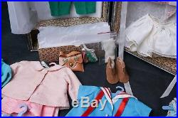 SALE Vintage 1961 Madame Alexander 14 Caroline Doll with Case & Tagged Clothes