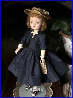 SALE Vintage Madame Alexander 1950's Cissy Doll All Original Cocktail Outfit