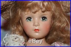 STUNNING! Vintage 14 Tagged Madame Alexander Princess Margaret Rose Compo Doll
