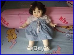 Sale Vintage Madame Alexander Brunette Puddin Baby Doll 1965 20 Original Dress