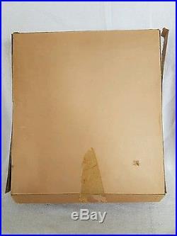 Scarce Madame Alexander Wendy Doll 8 Organdy Dress Plastic Display Frame #1855