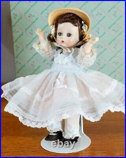 So Beautiful! Vintage 1954 Madame Alexander kins Southern Belle n Straw Hat