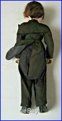 Stunning 21 Tall Madame Alexander Bridegroom in Black Tux HP Hard Plastic