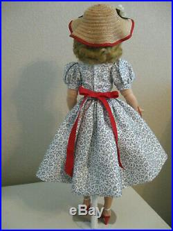 Sweet-but-not-perfect Vintage Cissy In Adorable Daytime Outfit