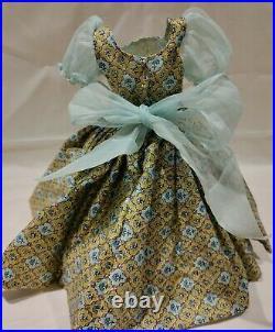 VINTAGE 1950's MADAME ALEXANDER CISSY DOLL STREET DRESS N HEELS NEAR MINT VHTF