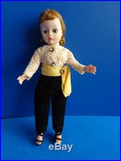 VINTAGE MADAME ALEXANDER CISSETTE DOLL- PANTS OUTFIT- 1950s
