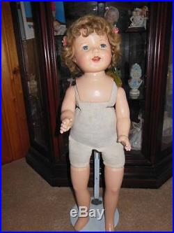 Vintage Madame Alexander Composition Large 29 Original Tagged Doll