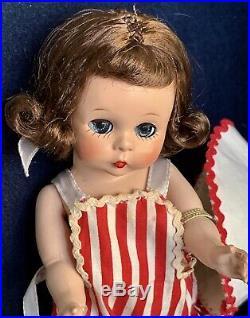 VINTAGE MADAME ALEXANDER-kINS 1953 SLNW TRIPLE STITCHED HAIR