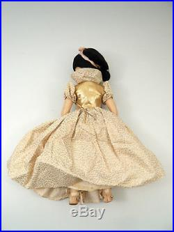 VINTAGE Madame Alexander 17 Snow White Composition Doll 1952