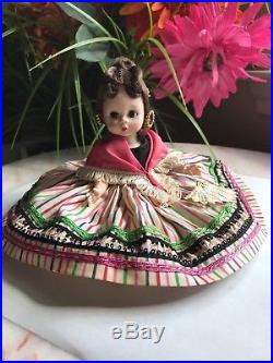 VINTAGE RARE HTF 1955 MADAME ALEXANDER #481 SLW Wendy Does The Mambo