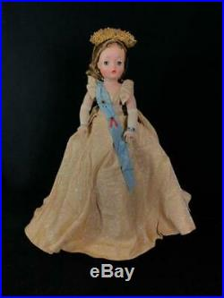 VTG Madame Alexander Cissy Queen Elizabeth 20 TAGGED DRESS BEAUTIFUL COMPLETE