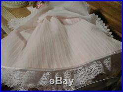 VTG Madame Alexander Portrait Doll in Cissy Forever Yours, Pink Bride Outfit 21