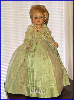 Very Rare Madame Alexander 20 Coco, 1966 only, as GWTW Melanie, Cissy Friend
