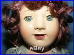 Vintage 1930's Madame Alexander 15 JANE WITHERS doll