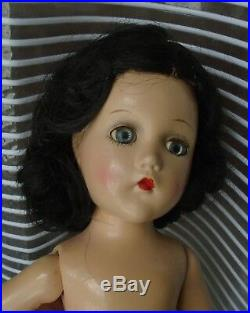Vintage 1940s 14 Composition Madame Alexander Scarlett O'Hara Doll NUDE