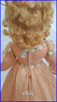 Vintage 1940s Madame Alexander Wendy Ann 21 Bridesmaid Compo Doll ALL ORIGINAL