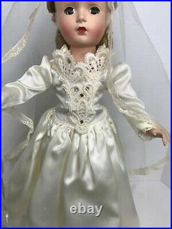 Vintage 1949 14 Alexander MARGARET BRIDE Doll BEAUTIFUL Original EC. Award winn