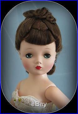 Vintage 1950's Madame Alexander Blue-Eyed Brunette 20 Cissy in Vintage Teddy