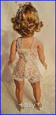 Vintage 1950s Madame Alexander Cissette Doll # 900 Tagged Teddy, shoes