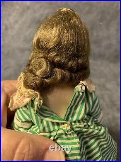 Vintage 1950s Madame Alexander Kins Little Women Jo With Stand