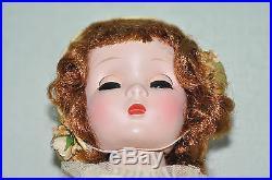 Vintage 1950s Madame Alexander Rosamund Bridesmaid doll 17in. All Original Gorg
