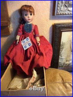 Vintage 1950s Madame Alexander Sweet Jo Doll Little Women Maggie Face 14 Inch