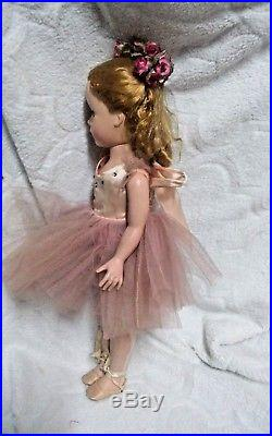 Vintage 1950s Original Madame Alexander 15 Inch Tagged Ballerina Margot Doll