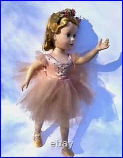 Vintage 1954 Madame Alexander Margot Margaret Ballerina Doll 18 inches tall