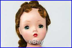 Vintage 1956 All Original Auburn Cissy Doll by Madame Alexander with Theater Set