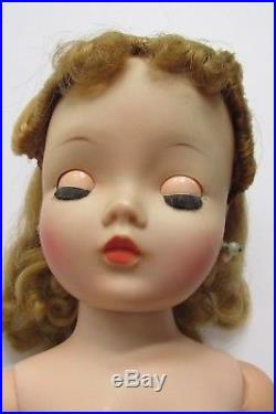 Vintage 1956 Cissy Doll in Outfit #2017 Nice Color All Original