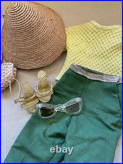 Vintage 1956 Madame Alexander Tagged Cissy Shopping Outfit Set Hat & more HTF