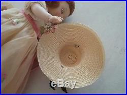 Vintage 1958 Madame Alexander Kins Wendy Wears a Bridesmaid Dress, #583, 8 inch