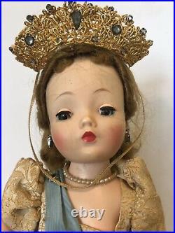 Vintage 21 Madame Alexander Cissy Queen Elizabeth Coronation Doll