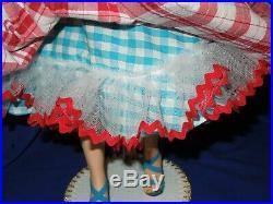 Vintage 50 Madame Alexander 20 Cissy doll in new summer sundress ensemble